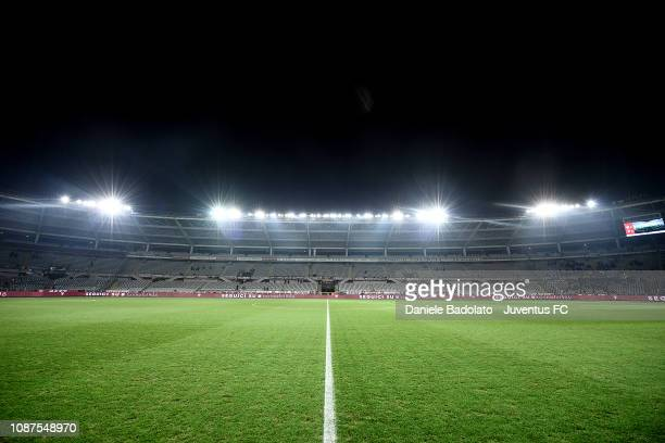 General view of the Stadio Olimpico during the Serie A match between Torino FC and Juventus at Stadio Olimpico di Torino on December 15, 2018 in...