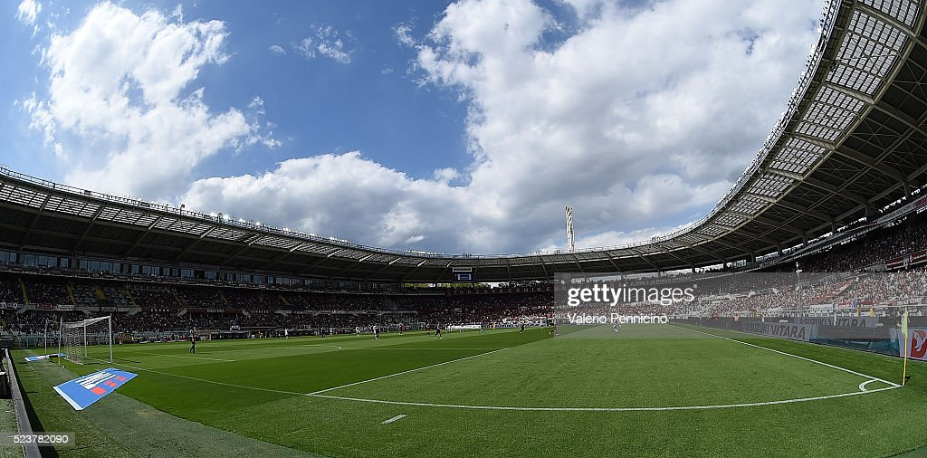 A general view of the Stadio Olimpico Grande Torino during the ...