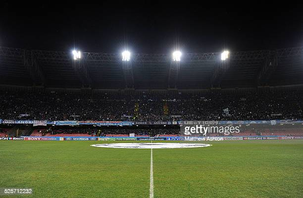 A general view of the Stadio San Paolo