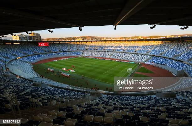 General view of the stadium ahead of the 2018 FIFA World Cup Qualifying Group D match at the Boris Paichadze Dinamo Arena Tbilisi