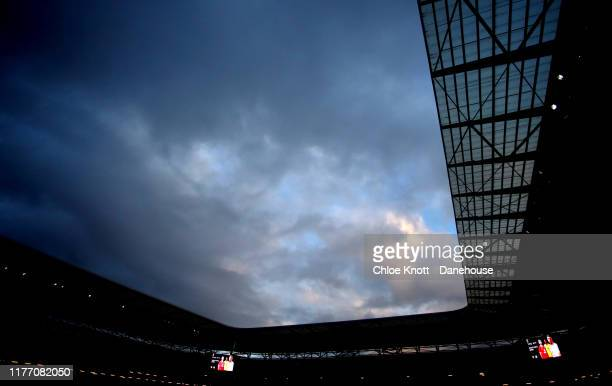 A general view of the stadium ahead of the Carabao Cup Third Round match between Mk Dons and Liverpool FC at Stadium MK on September 25 2019 in...