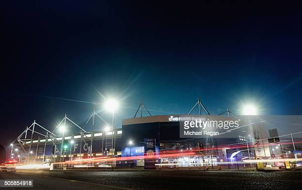 A general view of the stadium ahead of the Emirates FA Cup Third Round Replay between Leicester City and Tottenham Hotspurs at The King Power Stadium...
