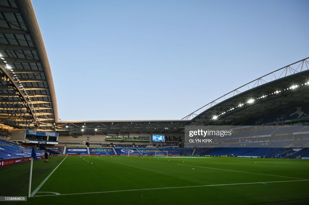 FBL-ENG-LCUP-BRIGHTON-PORTSMOUTH : News Photo