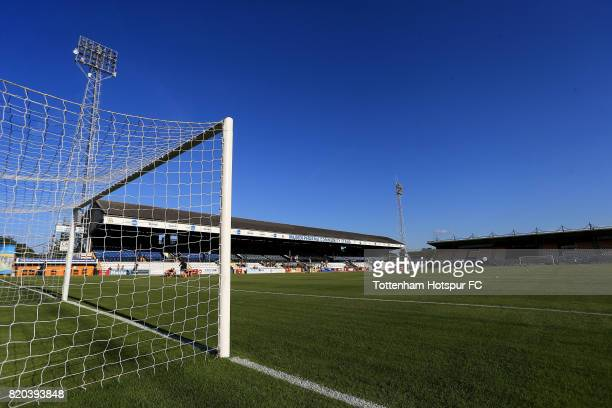 General view of the stadium ahead of the pre season friendly match between Cambridge United and Tottenham U23 at Cambs Glass Stadium on July 21, 2017...
