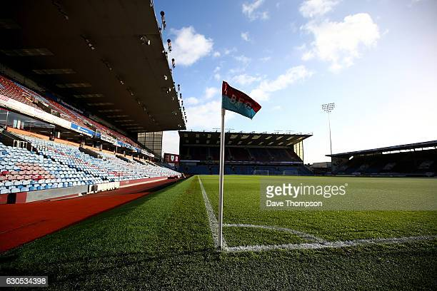 A general view of the stadium ahead of the Premier League match between Burnley and Middlesbrough at Turf Moor on December 26 2016 in Burnley England
