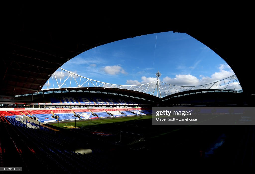 GBR: Bolton Wanderers v Norwich City - Sky Bet Championship