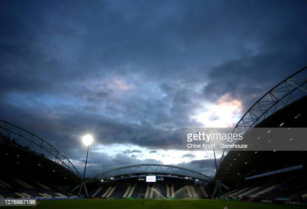 General view of the stadium ahead of the Sky Bet Championship match between Huddersfield Town and Nottingham Forest at John Smith's Stadium on...