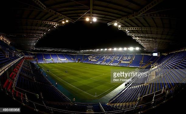 A general view of the stadium ahead of the Sky Bet Championship match between Reading and Huddersfield Town on November 3 2015 in Reading United...
