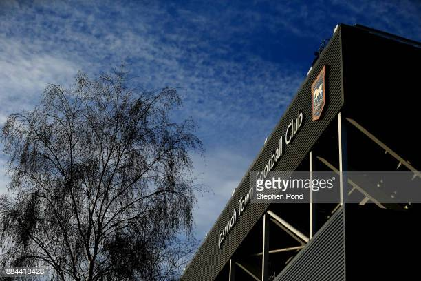 A general view of the stadium ahead of the Sky Bet Championship match between Ipswich Town and Nottingham Forest at Portman Road on December 2 2017...