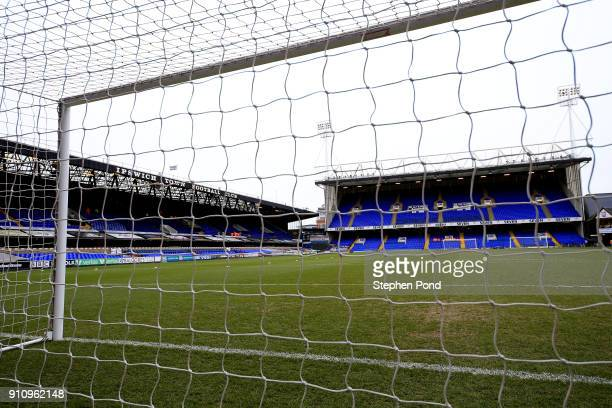 A general view of the stadium ahead of the Sky Bet Championship match between Ipswich Town and Wolverhampton Wanderers at Portman Road on January 27...