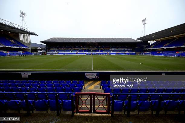A general view of the stadium ahead the Sky Bet Championship match between Ipswich Town and Leeds United at Portman Road on January 13 2018 in...