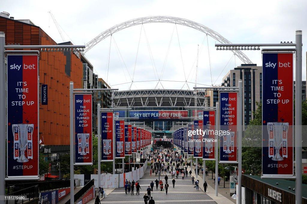 GBR: Charlton Athletic v Sunderland - Sky Bet League One Play-off Final