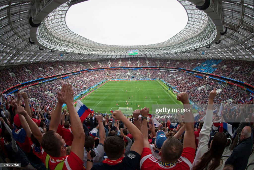 Russia v Saudi Arabia: Group A - 2018 FIFA World Cup Russia : News Photo