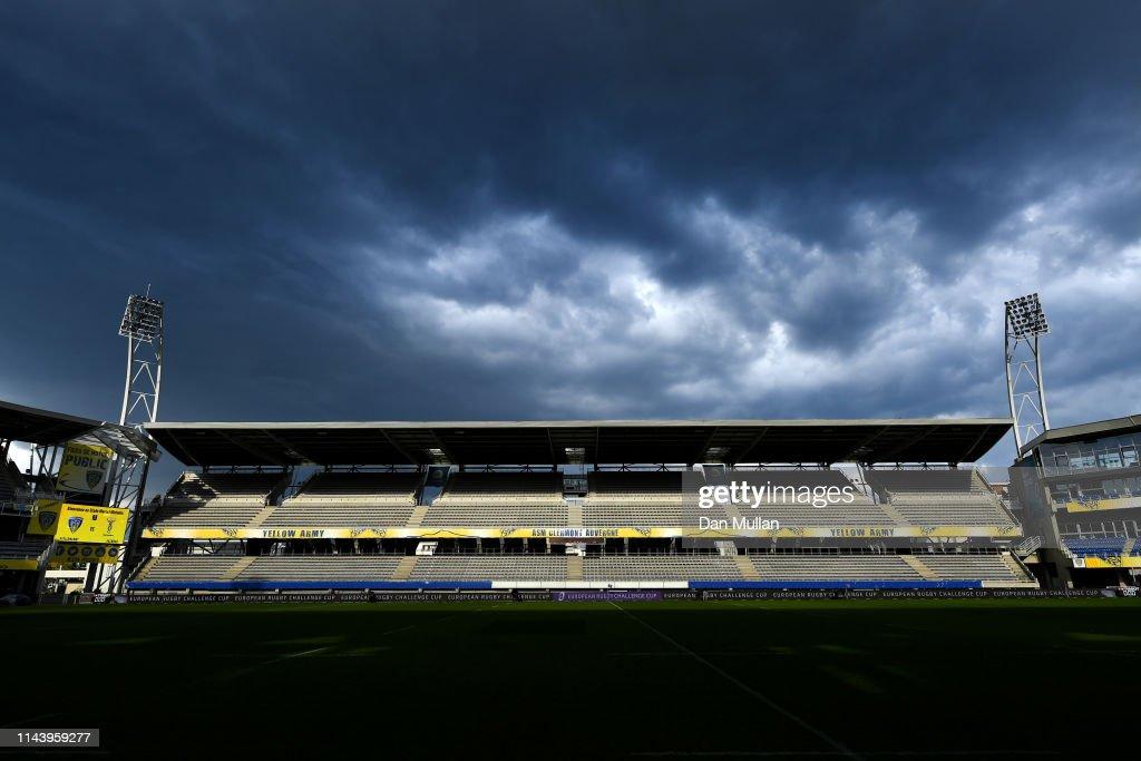 FRA: Clermont Auvergne v Harlequins - European Challenge Cup