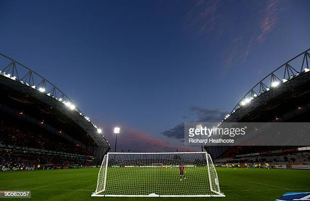 A general view of the stadium as the match takes place during the International friendly match between Republic of Ireland and South Africa at...