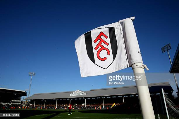 A general view of the stadium before the Barclays Premier League match between Fulham and Southampton at Craven Cottage on February 1 2014 in London...