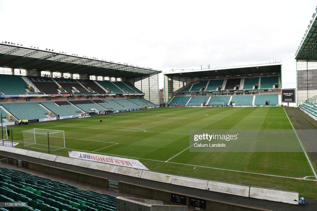 GBR: Hibernian v Hamilton Academical  - Scottish Ladbrokes Premiership