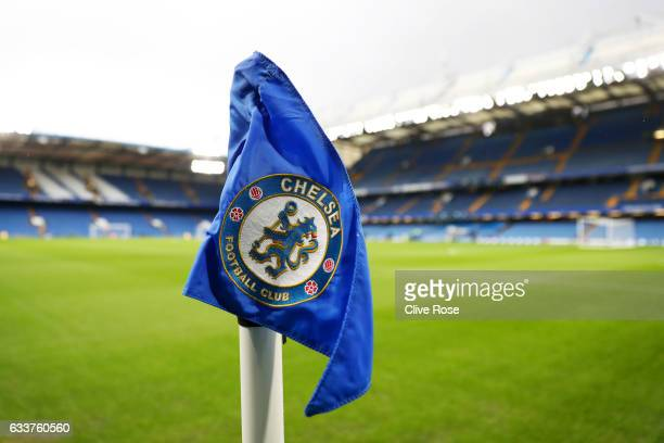 A general view of the stadium before the Premier League match between Chelsea and Arsenal at Stamford Bridge on February 4 2017 in London England