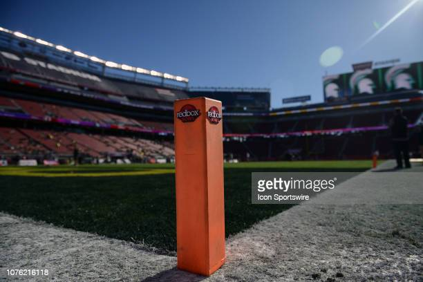 A general view of the stadium before the Redbox Bowl between the Michigan State Spartans and the Oregon Ducks at Levi's Stadium on December 31 2018...