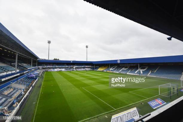 General view of the stadium before the Sky Bet Championship match between Queens Park Rangers and Luton Town at Loftus Road Stadium, London on...