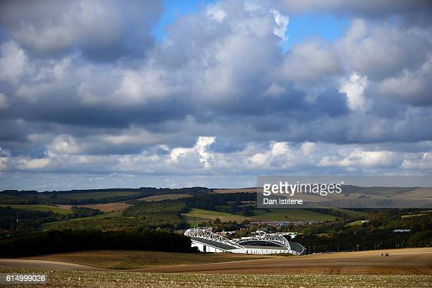 A general view of the stadium before the Sky Bet Championship match between Brighton Hove Albion and Preston North End at Amex Stadium on October 15...