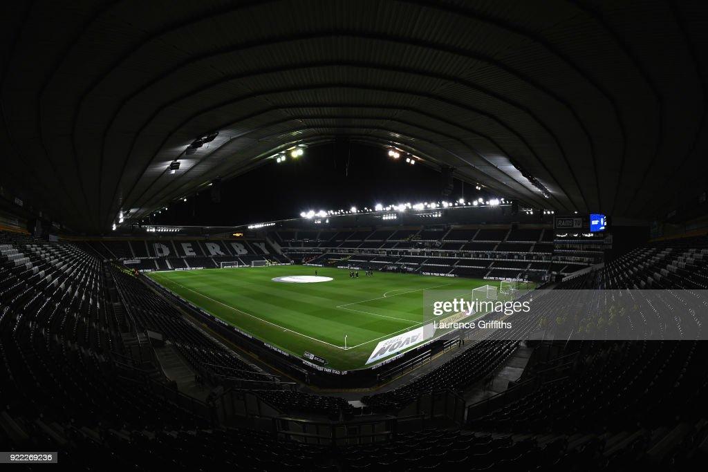 Derby County v Leeds United - Sky Bet Championship : News Photo