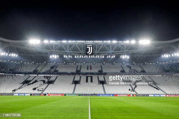 General view of the stadium before the UEFA Champions League group D match between Juventus and Atletico Madrid at Allianz Stadium on November 26,...