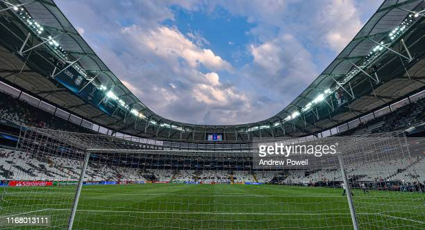 General view of the stadium before the UEFA Super Cup match between Liverpool and Chelsea at Vodafone Park on August 14 2019 in Istanbul Turkey