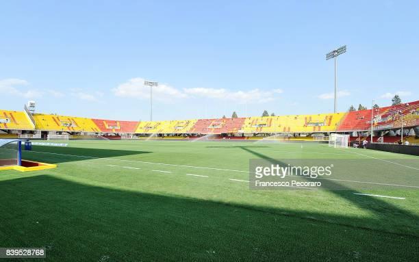 A general view of the stadium Ciro Vigorito before the Serie A match between Benevento Calcio and Bologna FC at Stadio Ciro Vigorito on August 26...