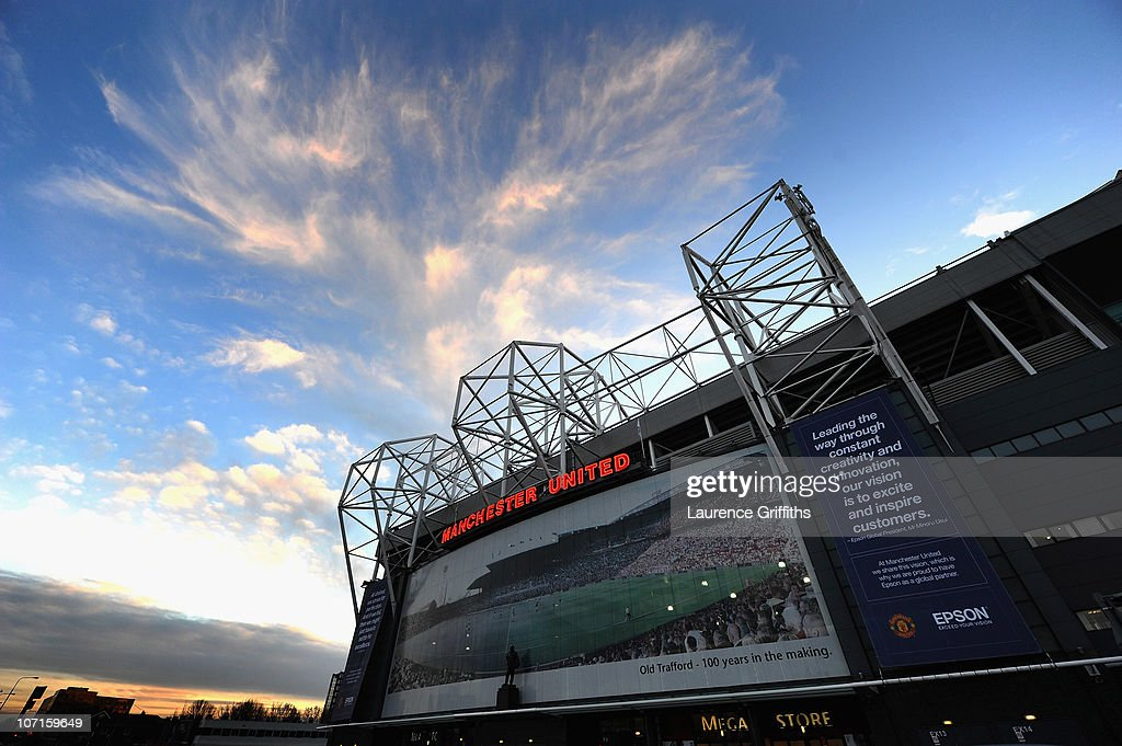 A general view of the Stadium during a Press Conference as Manchester United launch a new sponsorship deal with Epson at Old Trafford on November 26, 2010 in Manchester, England.