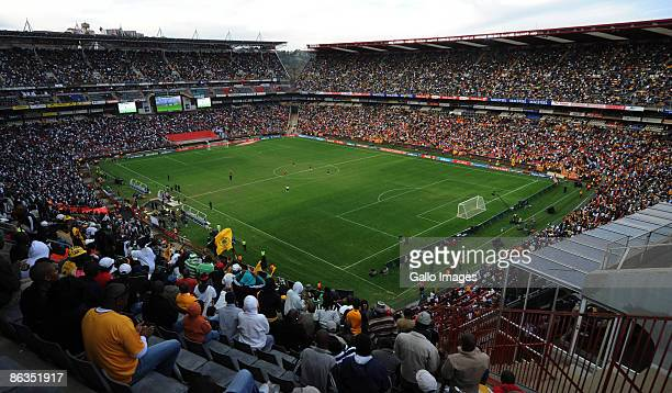 General view of the stadium during the Absa Premiership match between Orlando Pirates and Kaizer Chiefs from Coca Cola Park on May 2, 2009 in...
