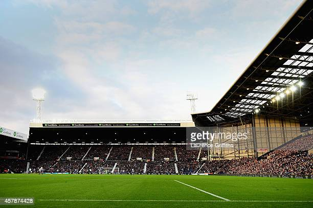 A general view of the stadium during the Barclays Premier League match between West Bromwich Albion and Crystal Palace at The Hawthorns on October 25...