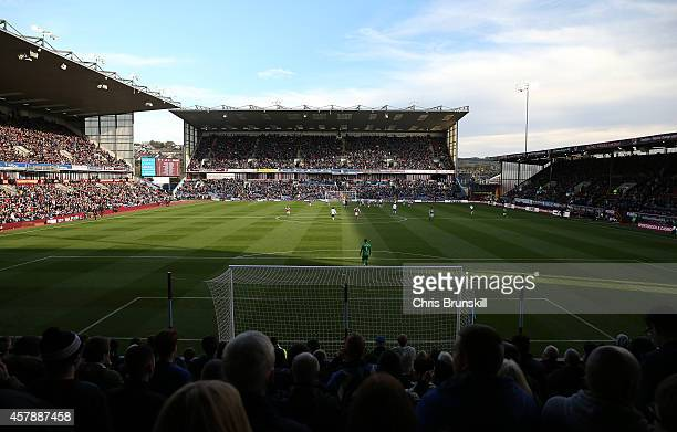 A general view of the stadium during the Barclays Premier League match between Burnley and Everton at Turf Moor on October 26 2014 in Burnley England