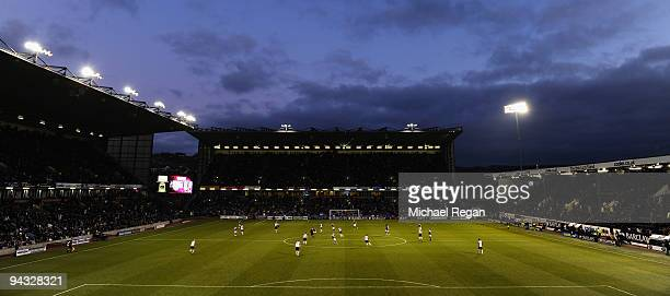 A general view of the stadium during the Barclays Premier League match between Burnley and Fulham at Turf Moor on December 12 2009 in Burnley England
