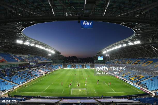 General view of the stadium during the FIFA U20 World Cup Korea Republic 2017 Round of 16 match between USA and New Zealand at Incheon Munhak Stadium...