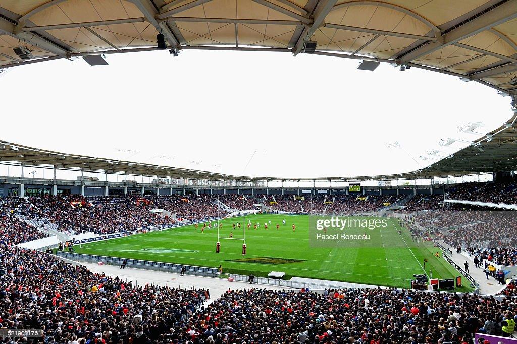 Toulouse v Racing 92 - Top 14 : News Photo