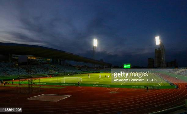 General view of the stadium during the Group B match between Nigeria and Hungary FIFA U17 World Cup Brazil 2019 at Estadio Olimpico on October 26...