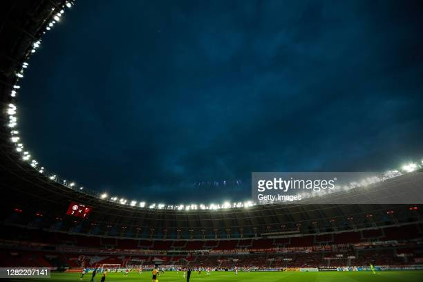 General view of the stadium during the match between Internacional and Flamengo as part of Brasileirao Series A 2020 at Beira-Rio Stadium on October...