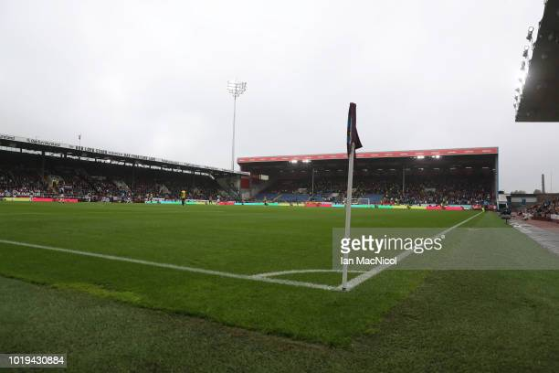 A general view of the stadium during the Premier League match between Burnley FC and Watford FC at Turf Moor on August 19 2018 in Burnley United...
