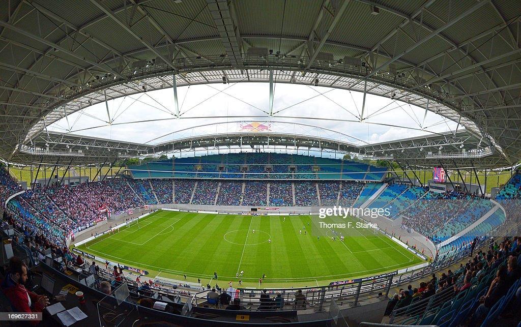 Rasenball Leipzig v Sportfreunde Lotte - Regionalliga Playoff First Leg : News Photo