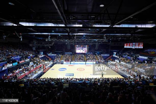 General view of the stadium during the round 14 NBL match between the Illawarra Hawks and Melbourne United at WIN Entertainment Centre on January 04,...