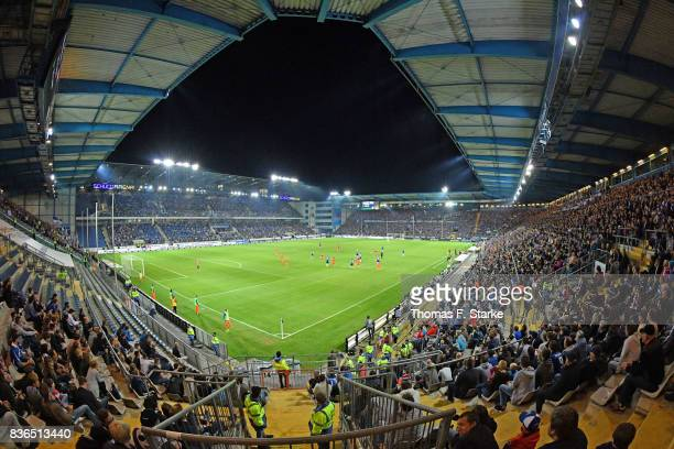 A general view of the stadium during the Second Bundesliga match between DSC Arminia Bielefeld and VfL Bochum 1848 at Schueco Arena on August 21 2017...
