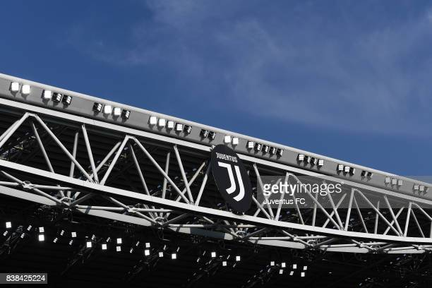 A general view of the stadium during the Serie A match between Juventus and Cagliari Calcio at Allianz Stadium on August 19 2017 in Turin Italy