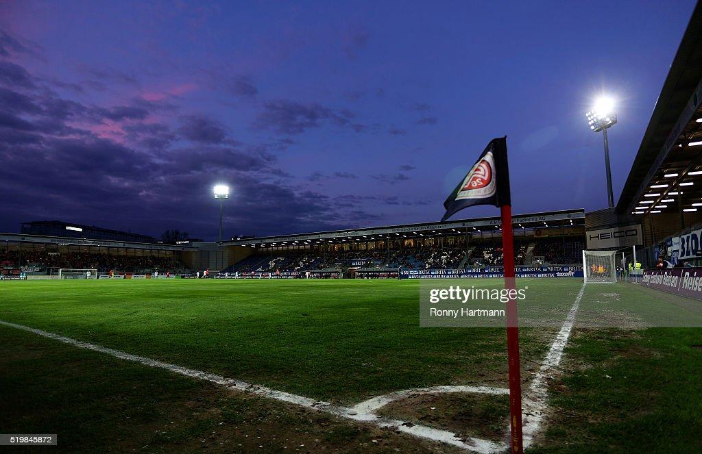 SV Wehen Wiesbaden v 1. FC Magdeburg - 3. Liga : News Photo