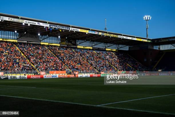 General view of the stadium during the Women's International Friendly match between Netherlands and Japan at Rat Verlegh Stadion on June 9 2017 in...