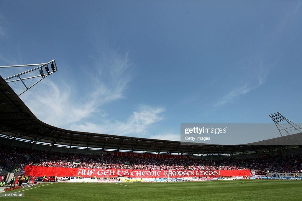 Hallescher FC v RB Leipzig - Regionalliga Nord : News Photo