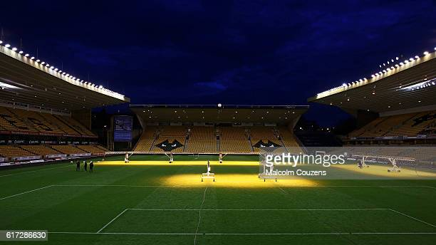 A general view of the stadium following the Sky Bet Championship game between Wolverhampton Wanderers and Leeds United at Molineux on October 22 2016...