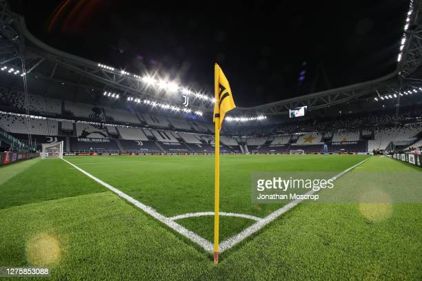 General view of the stadium from the corner flag prior to the Serie A match between Juventus and UC Sampdoria at Allianz Stadium on September 20,...
