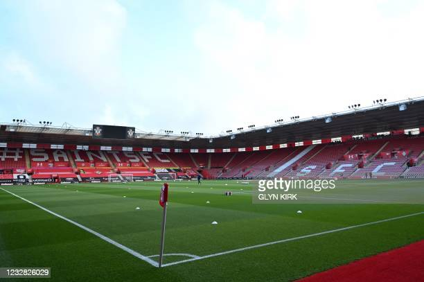 General view of the stadium is pictured ahead of the English Premier League football match between Southampton and Crystal Palace at St Mary's...