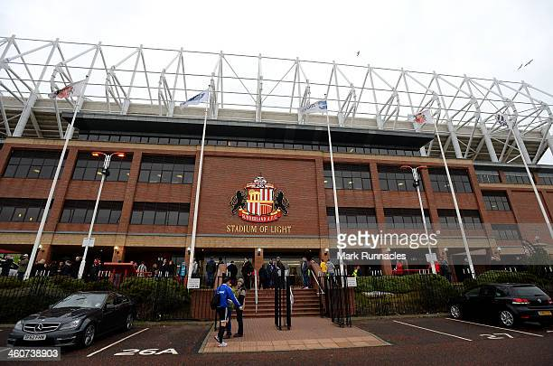 General view of the Stadium of Light before the Budweiser FA Cup Third Round match between Sunderland and Carlisle United at the Stadium of Light on...